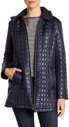 Kate Spade Hooded Quilt Jacket