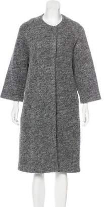 Humanoid Oversize Wool-Blend Coat