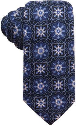 Tasso Elba Men Medallion Wool Tie
