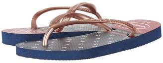 Havaianas Slim Nautical Flip-Flop Girls Shoes