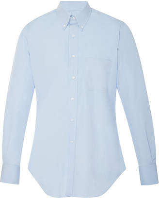 3a0fa5ba6f5 Thom Browne Exclusive Cotton-Poplin Dress Shirt