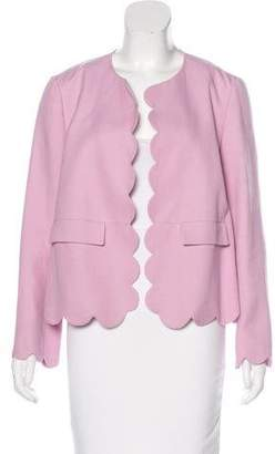 Chloé Long Sleeve Scallop-Trimmed w/ Tags