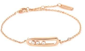 Möve Messika 'Baby Move' diamond 18k rose gold bracelet