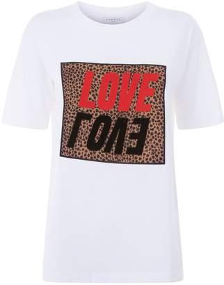Sandro Leopard Love T-Shirt