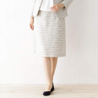 Dessin (デッサン) - Dessin(Ladies) メランジツィード スカート