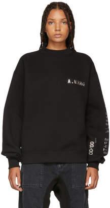 Alexander Wang Black Credit Card Sweatshirt