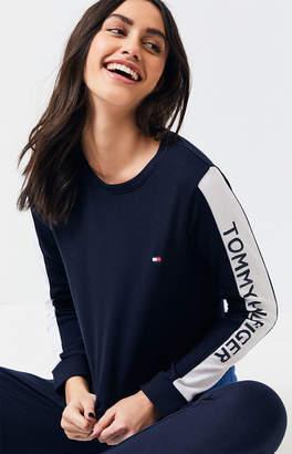 Tommy Hilfiger Long Sleeve Inset Logo Sweatshirt