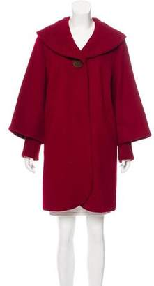 Sofia Cashmere Knee-Length Wool Coat