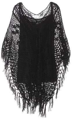 Anna Kosturova Tassel cotton top