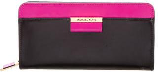 MICHAEL Michael KorsMichael Kors Leather Continental Wallet