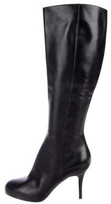 Sergio Rossi Leather High Heel Boots