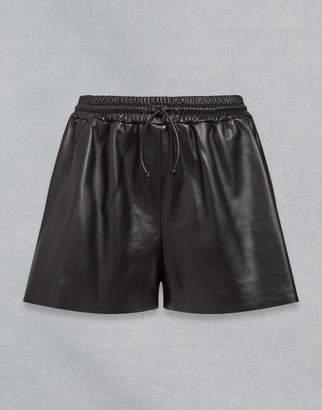 Belstaff Velma Leather Shorts