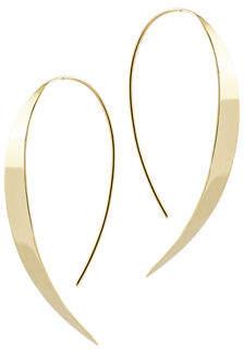 Lana Bond Small Vanity Hooked on Hoop Earrings in 14K Rose Gold