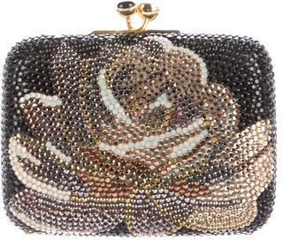 Judith Leiber Crystal Embellished Minaudière $525 thestylecure.com