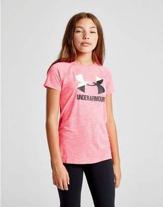 Under Armour Girls' Novelty Logo T-Shirt Junior