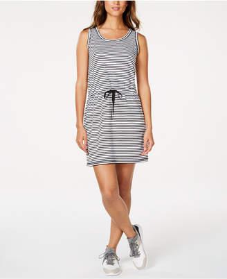 Ideology Striped Drawstring Dress