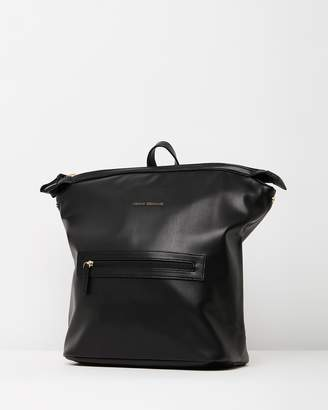 Armani Exchange PU Backpack