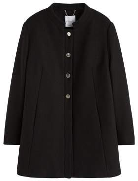 Violeta BY MANGO Buttoned wool coat