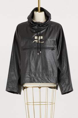 Courreges Oversized sweatshirt jacket