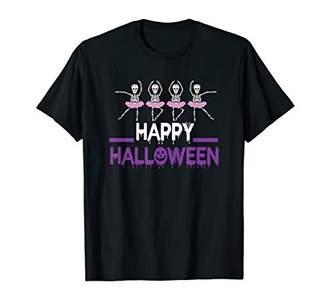 HAPPY HALLOWEEN DANCING BALLET T-SHIRT T-Shirt