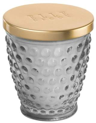 Jay Import Hobnail Glass Jar Candle 8oz - Grey