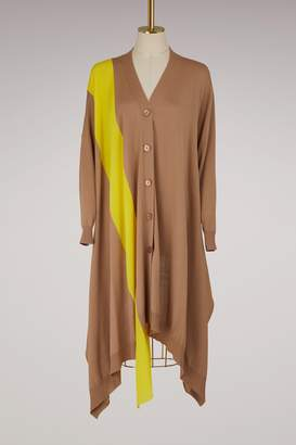 Stella McCartney Wool long cardigan