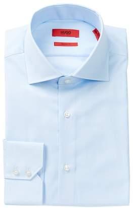 BOSS Gerald Front Button Solid Regular Fit Woven Shirt