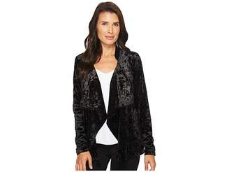 Bobeau B Collection by Magda Velvet Blazer Women's Jacket