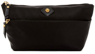 Anne Klein Nylon Carryall Cosmetic Case $38 thestylecure.com