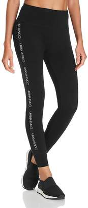 Calvin Klein Logo-Trim Leggings