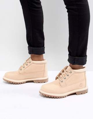 Timberland Nellie Apple Blossom Flat Boots