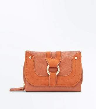 New Look Tan Ring Front Small Purse