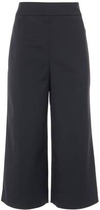 Tibi Stretch Faille High Waisted Pants