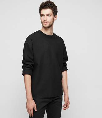 Reiss LONESOME Ribbed Crew-Neck Jumper