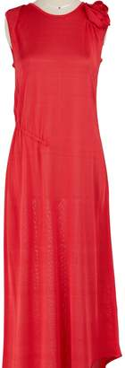 Lanvin Asymmetrical viscose dress