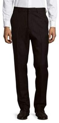 Dries Van Noten Striped Wool Trousers