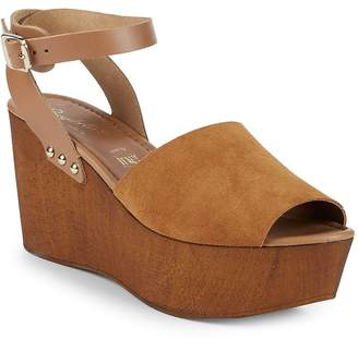 Seychelles Women's Paddle Suede Ankle-Strap Wedge Sandals