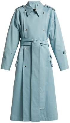 Acne Studios Double-breasted cotton trench coat