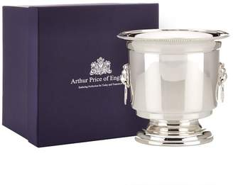 Arthur Price Of England Silver Plated Ice Bucket and Strainer