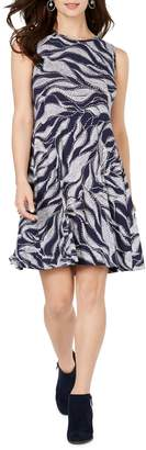 Style&Co. Style & Co. Printed A-Line Dress
