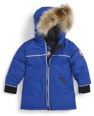 Canada Goose 'Reese' Down Jacket with Genuine Coyote Fur Trim