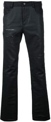 General Idea distressed slim-fit jeans