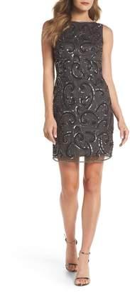 Pisarro Nights Embellished Sheath Dress