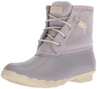 Sperry Women's Saltwater Emboss Wool Rain Boot