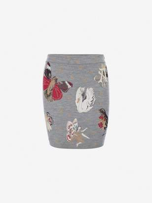Alexander McQueen Gothic Fairytale Mini Skirt