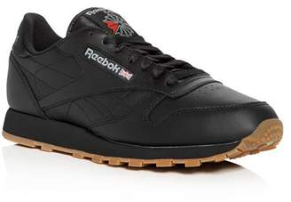 b576eeb3700 Reebok Men s Classic Leather Lace Up Sneakers