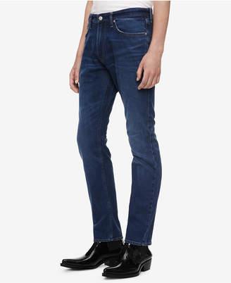 Calvin Klein Jeans Men's Athletic Tapered Jeans Ckj 056
