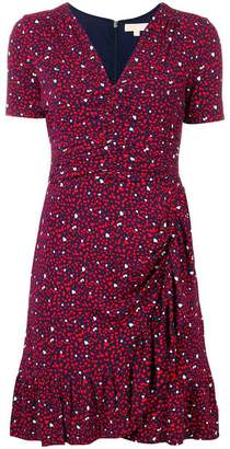 MICHAEL Michael Kors heart wrap dress