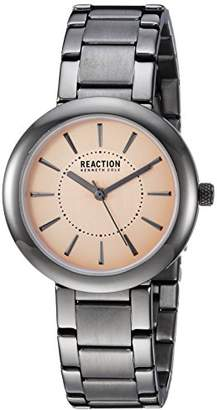 Kenneth Cole Reaction Women's Quartz Metal and Stainless Steel Casual Watch