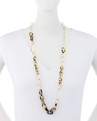 A.V. Max Long Vanilla Link Necklace